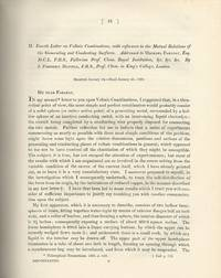 DANIELL CELL: Fourth Letter on Voltaic Combinations, with Reference to the Mutual Relations of...