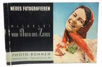 Neues Fotografieren Allerlei Von Agfa Bis Zeiss Photo Bonnen (German camera catalog booklet ca. 1937)
