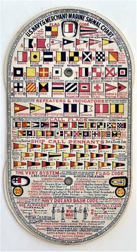 U.S. Navy and Merchant Marine Signal Chart, The Two-Arm Semaphore Code, Fastest by Machine or Hand Flag Method