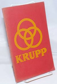 image of Fried.  Krupp Aktiengesellschaft.  Products