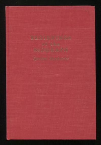 New York: The Beginnings of the American Film. Near Fine. 1964. First Edition. Hardcover. (no dust j...