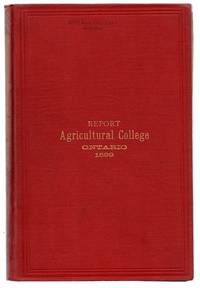 Twenty-fifth Annual Report of the Ontario Agricultural College and Experimental Farm 1899