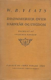 Drømmerier over barneår og ungdom. [First Danish Edition of