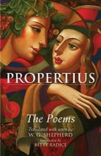 image of Propertius: The Poems