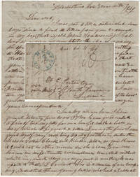 Letter from a young lawyer and recent graduate of Hanover College to a friend who was still enrolled reporting the founding of an early independent Memphis fire company to include the purchase of an engine and misconduct at a firemen's ball