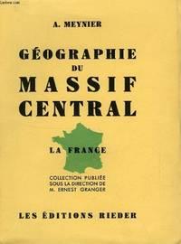 Geographie du massif central ( Dédicacé )