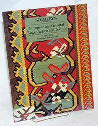 image of European and Oriental Rugs, Carpets and Textiles; Sotheby's London Wednesday 28th April 1993