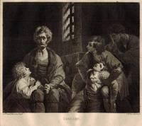'Ugolino'  Ugolino with children in prison, by S.W. Reynolds.