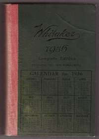 Calendario 1936.Whitaker S Almanack 1936 By J Whitaker Hardcover 1936 From Ainsworth Books And Biblio Com