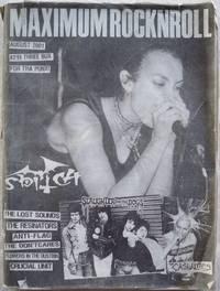MAXIMUMROCKNROLL, AUGUST 2001, ISSUE 219 (MAXIMUM ROCKNROLL)