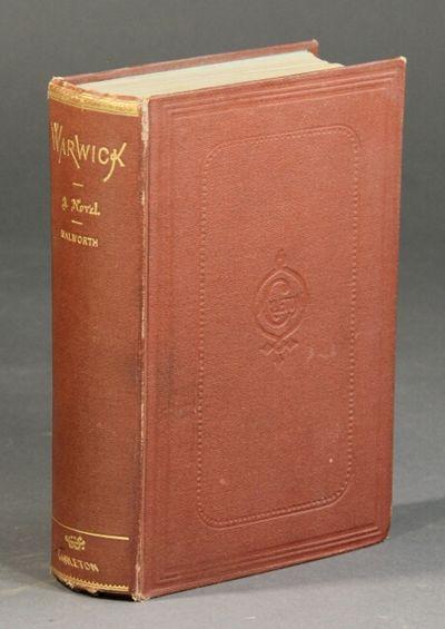 New York: G. W. Carleton, 1869. First edition, 8vo, pp. 470, 8 ads; original red cloth; gilt letteri...
