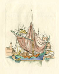 SAILING-SHIPS AND BARGES OF THE WESTERN MEDITERRANEAN AND ADRIATIC SEAS. A SERIES OF COPPER PLATES ENGRAVED IN THE LINE MANNER...