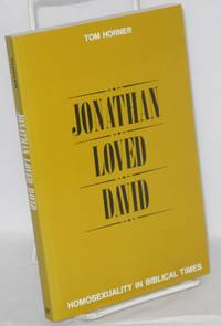 image of Jonathan loved David; homosexuality in biblical times