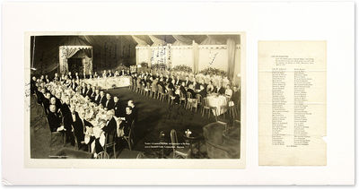 1935. Darrow at Banquet in Honor Of Lincoln Steffens. Darrow at Banquet in Honor Of Lincoln Steffens...