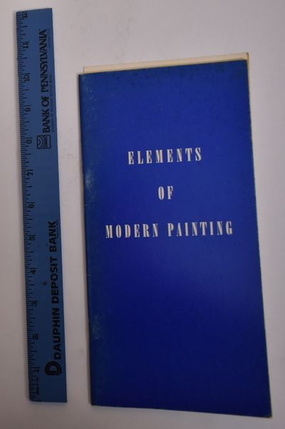 New York: The Solomon R. Guggenheim Foundation, 1961. Softcover. VG- (wear on cover) (may have writi...