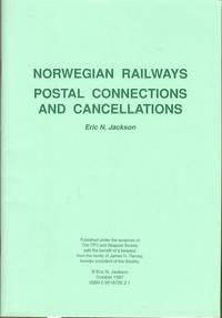 Norwegian railways - postal connections and cancellations