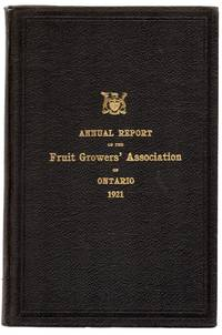 Fifty-third Annual Report of the Fruit Growers' Association of Ontario, 1921