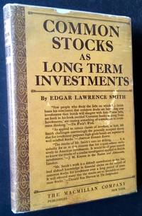 Common Stocks as Long Term Investments (In Dustjacket)