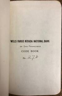 Wells Fargo Nevada National Bank of San Francisco Code Book