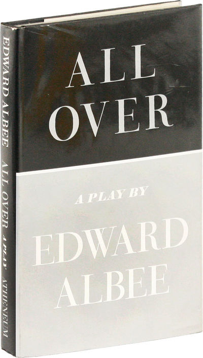 New York: Atheneum, 1971. First Edition. First Printing. Octavo (21.5cm); black cloth, with titles s...