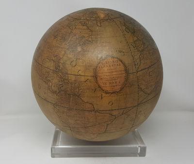TERRESTRIAL GLOBE - CELESTIAL GLOBE