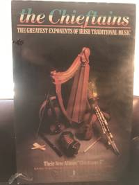 "The Chieftains The Greatest Exponents Of Irish Traditional Music Poster ""Chieftains 5""  Mounted Promotional Poster Atlas Folio - over 23 - 25"" tall"