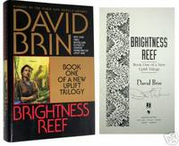 Brightness Reef: Book One of a New Uplift Trilogy by  David Brin - Signed First Edition - 1995 - from Idler Fine Books and Biblio.com