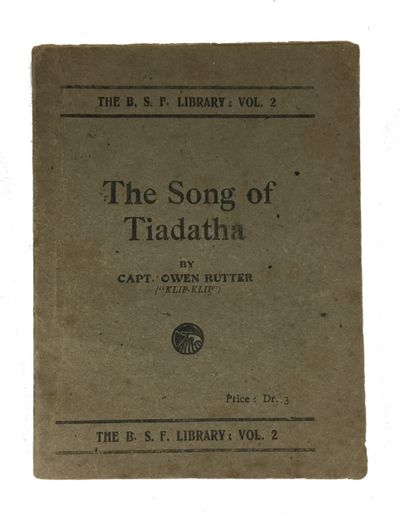 Salonica: Published during the War, 1919. 1st separate ed.(?). Paperback. Very Good. , 114p. Origina...