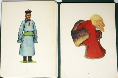 Ulan Bator: State Publishing House, 1967. Yadamsuren, U. National Costumes of the M.P.R. . Introduct...