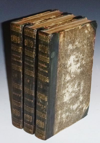 Edinburgh: for Archibald Constable and Co, 1823. First Edition. Small Octavo. In three volumes. 273,...