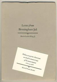 Letter from Birmingham jail.