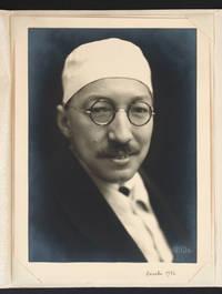 Portrait photographique avec mention autographe (décembre 1932)