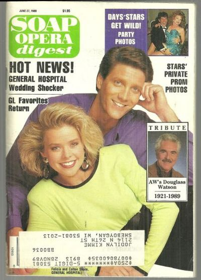 SOAP OPERA DIGEST JUNE 27, 1989, Soap Opera Digest