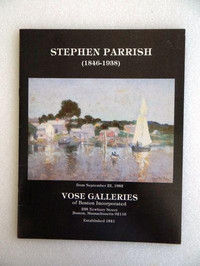 Boston, Massachusetts: Vose Galleries of Boston, Inc, 1982. Paperback. VG. May have some shelf wear ...