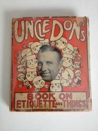 Uncle Don's Book On Etiquette and Things