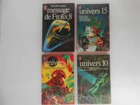 image of Message De Frolix 8, Univers 15 (Un Cadeau Pour Pat), Univers 11 (Ou Se Niche Le Wub), Univers 10 (L'ancien Combattant) (4 books / livres)