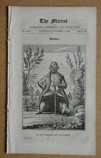 The Mirror of Literature, Amusement, and Instruction. No. 454. Saturday, October 9, 1830