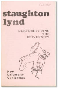 Restructuring the University [cover title]