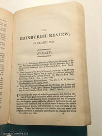 Photogenic Drawing, or Drawing by the Agency of Light. Principles of the Daguerreotype, etc. A rare original article from the Edinburgh Review, 1843