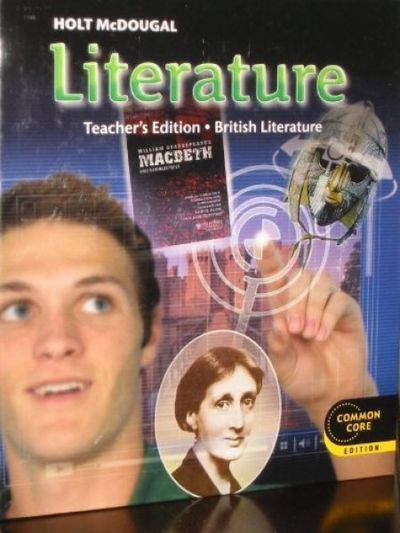 Holt McDougal Literature: Teacher's Edition Grade 12 British