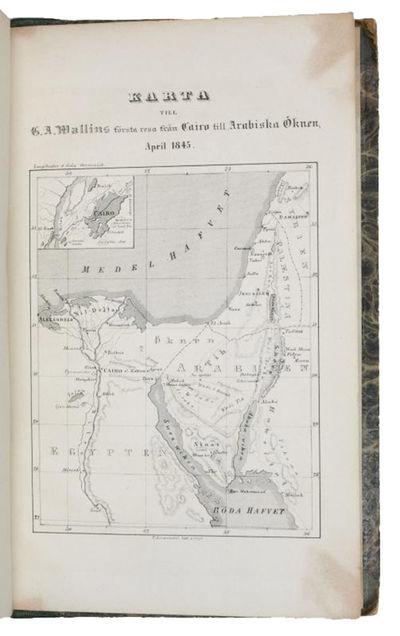Första Resa fran Cairo till Arabiska...