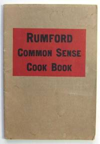 image of Rumford Common Sense Cook Book (Promotional Cook Book)