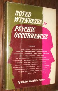 image of Noted Witnesses for Psychic Occurrences