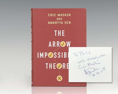 New York: Columbia University Press, 2014. First edition of this work which explores Kenneth Arrow's...