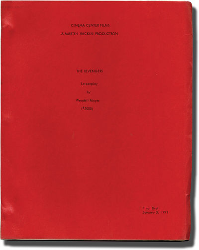 Burbank, CA: Cinema Center Films, 1971. Revised Final Draft script for the 1972 film. Based on a sto...