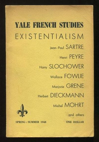 New Haven CT: Yale University. Very Good. 1948. (Vol. 1, No. 1). Journal. . The inaugural issue of t...