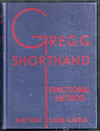 Gregg Shorthand. Manual for the Functional Method. Part One