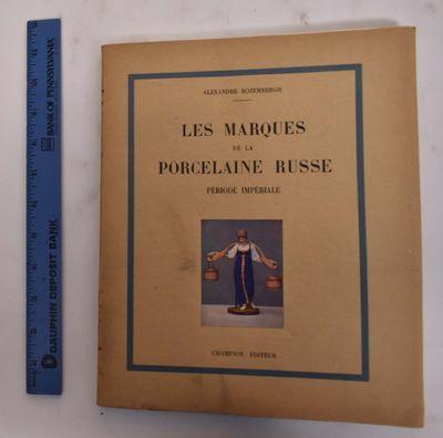 Paris: Librairie ancienne Honoré Champion, 1926. Softcover. VG (light foxing to upper block edges, ...