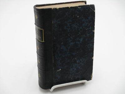 Paris. : Garnier Freres & Guillaumin., 1863. 5th edition. . Contemporary quarter black morocco over ...