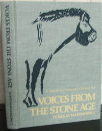 image of Voices from the stone age;: A search for cave and canyon art,